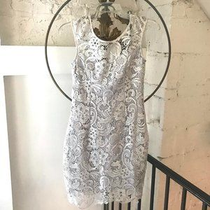 NWT Francesca's Collections Miami Lined Lace Dress